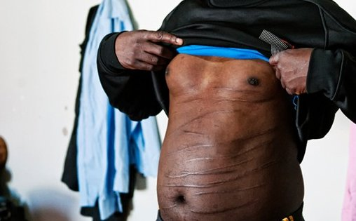 The tortured men from Tawergha
